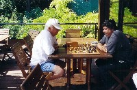 Chess can be played anywhere!