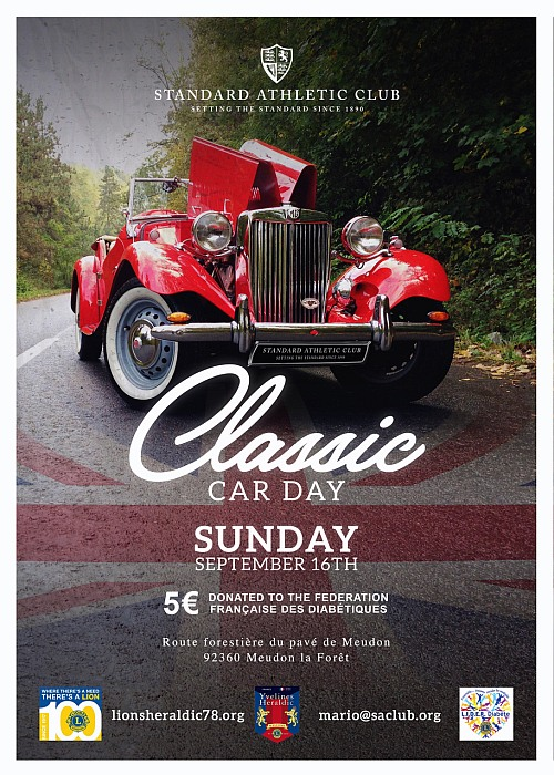 Classic Car Day 2018 500x700