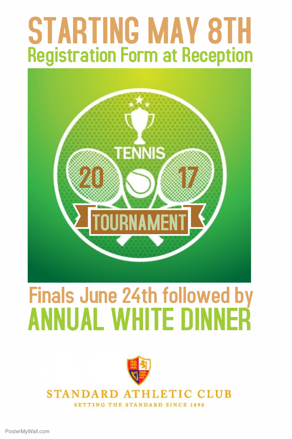 2017 Tennis Tournament